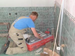 Renovatie badkamer en keuken. Bouwbedrijf Scheenstra