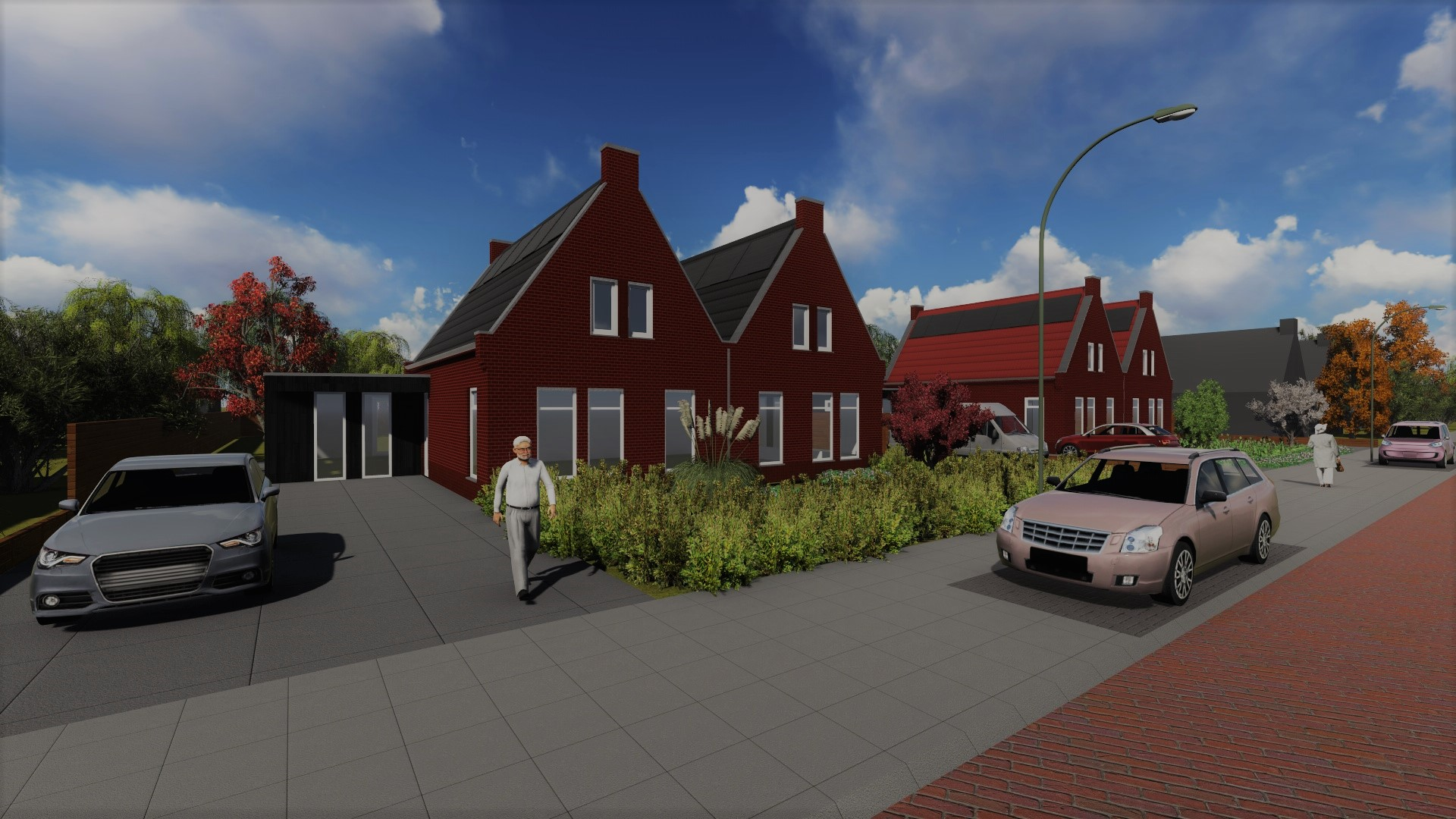 Aankomende zaterdag open huizen dag bouwbedrijf for Bouwbedrijf huizen